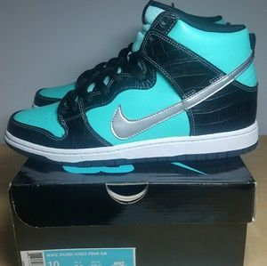 48ecffdef674 Nike Shoes - Nike SB Dunk High - Tiffany Diamond